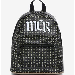 """MCR OFFICIAL """"SYMBOLS"""" LEATHER BACKPACK"""